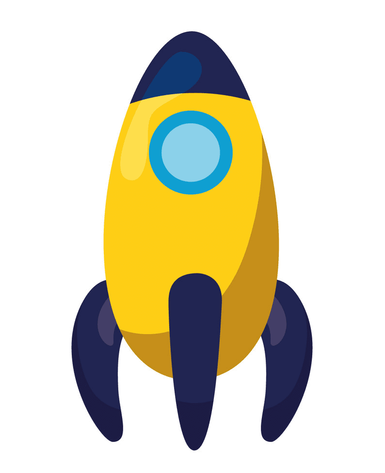 Rocket Launch clipart free images