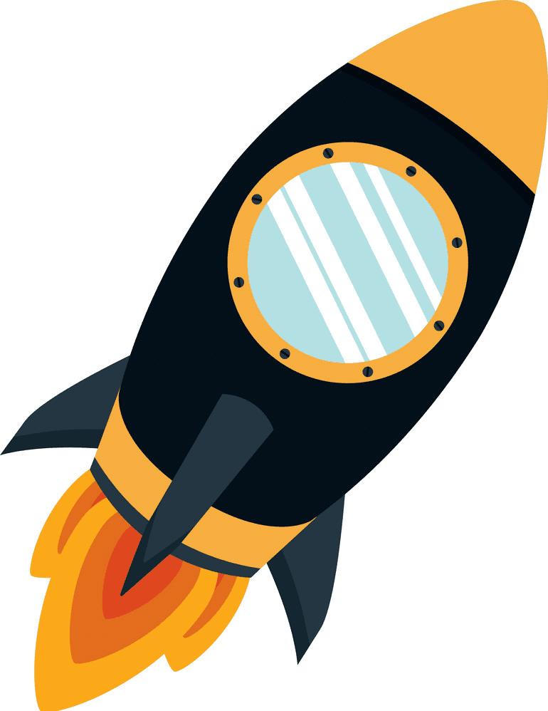 Rocket Launch clipart image