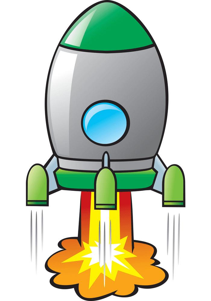Rocket Launch clipart images