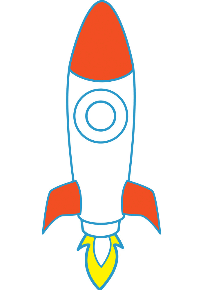 Rocket Launch clipart png free