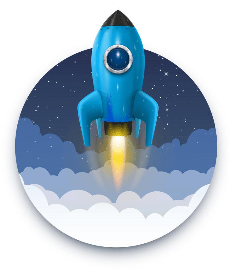 Rocket Launch clipart png image