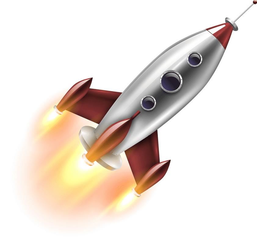 Rocket Launch clipart png images