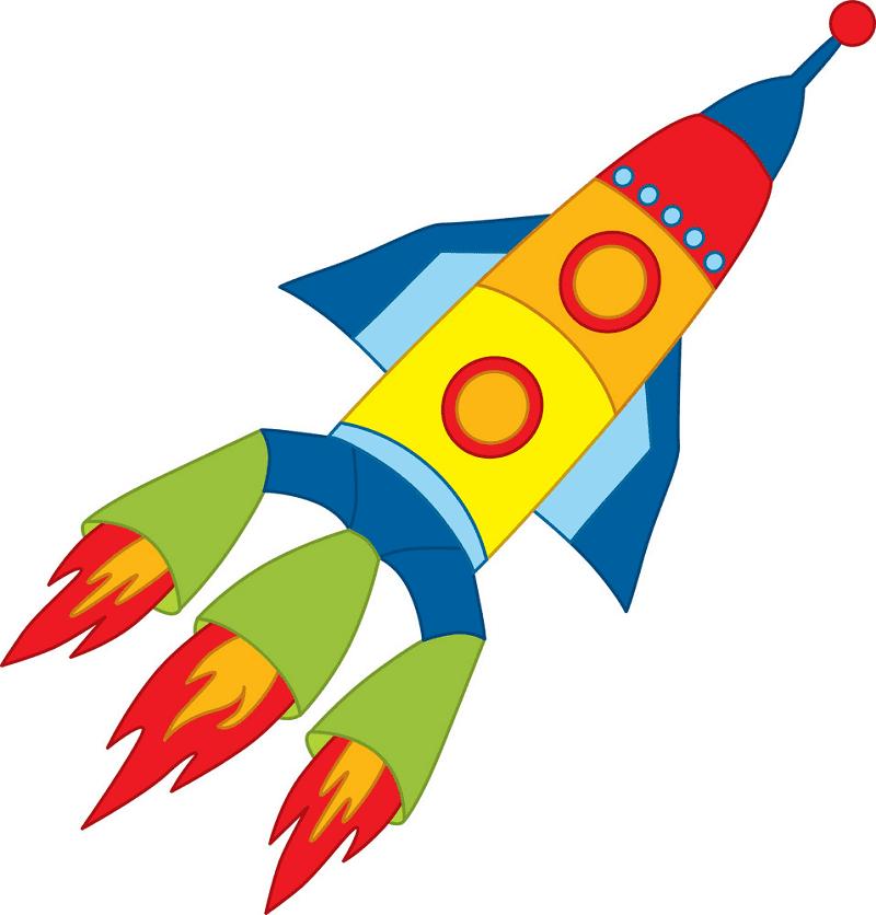 Rocket Launch clipart png