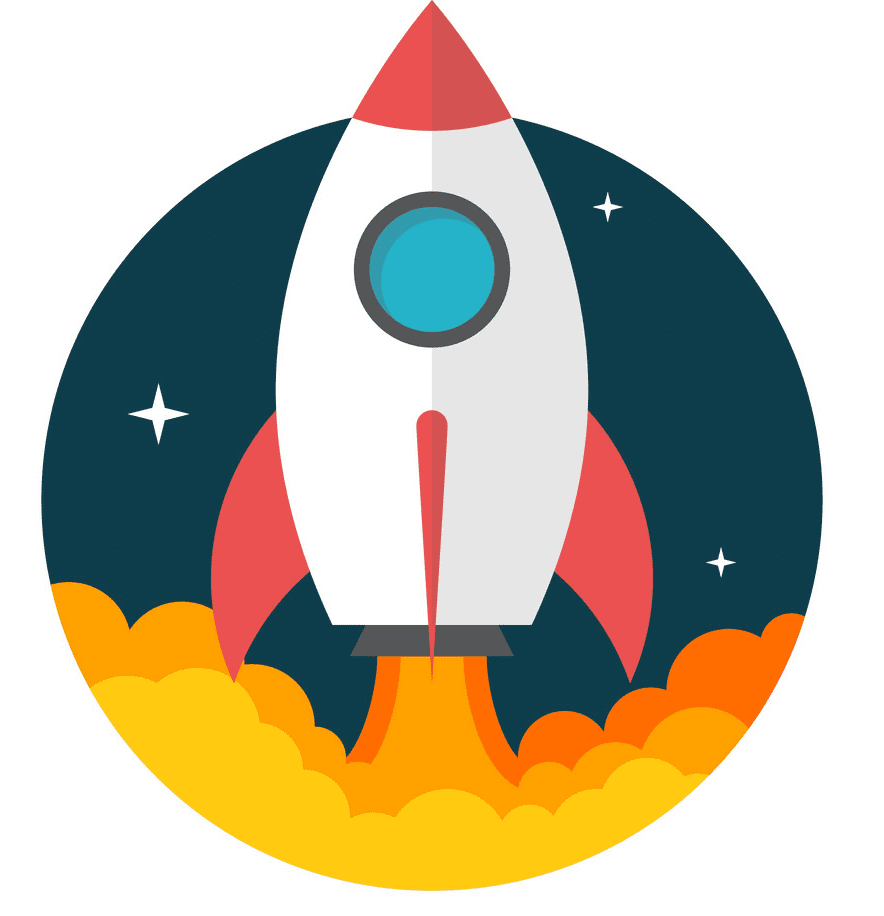 Rocket Launch clipart