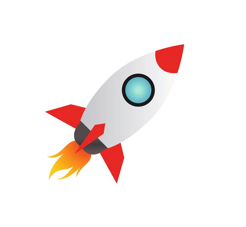 Rocket Ship clipart 1