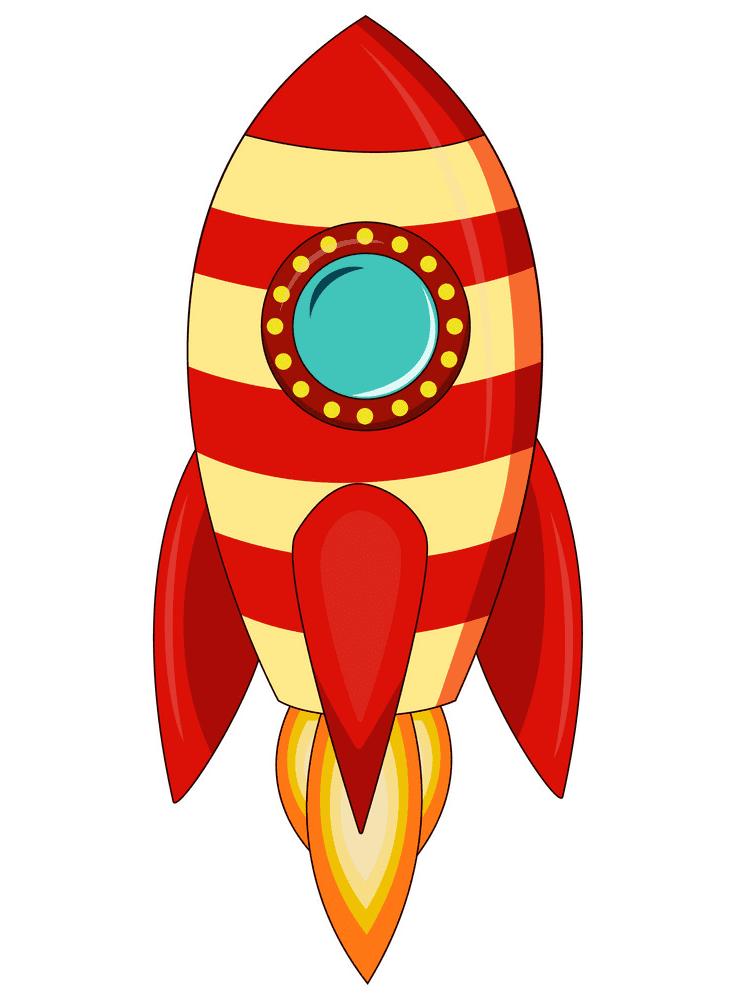 Rocket Ship clipart 2