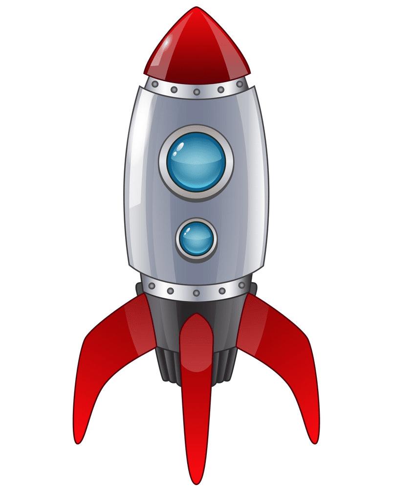 Rocket Ship clipart 3