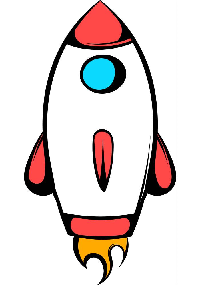 Rocket Ship clipart 4