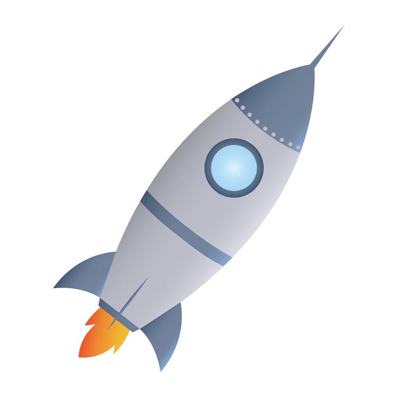 Rocket Ship clipart free image