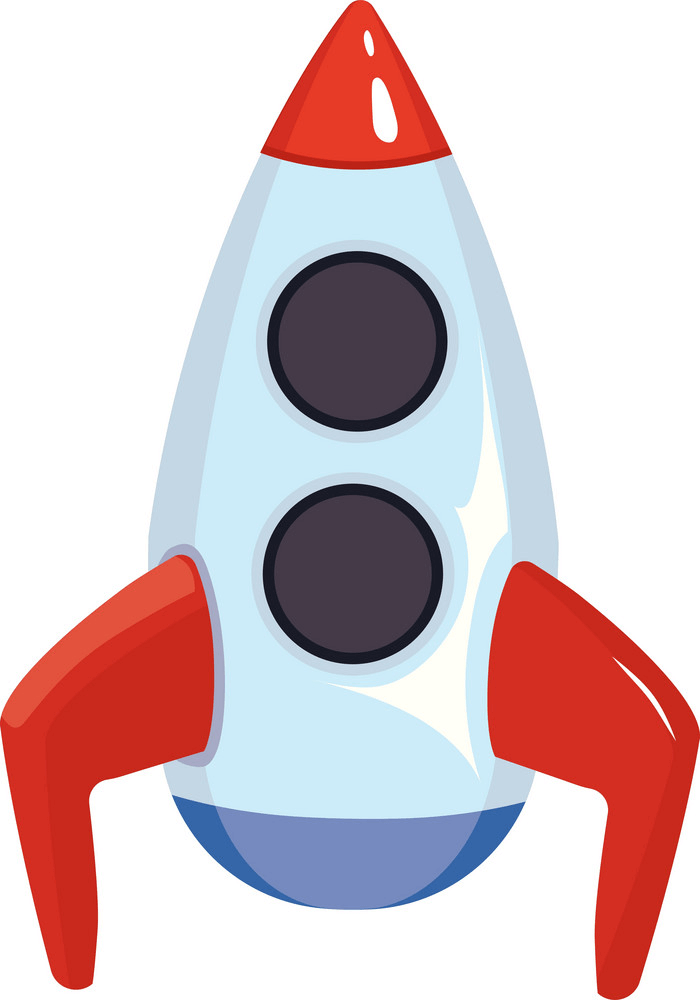 Rocket Ship clipart free images
