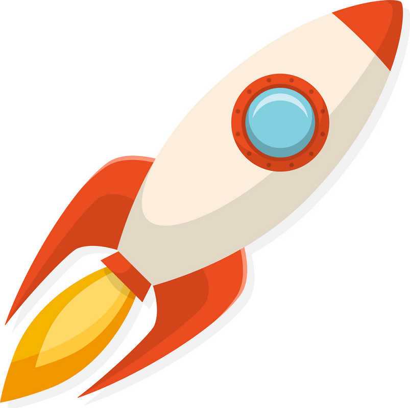 Rocket Ship clipart free