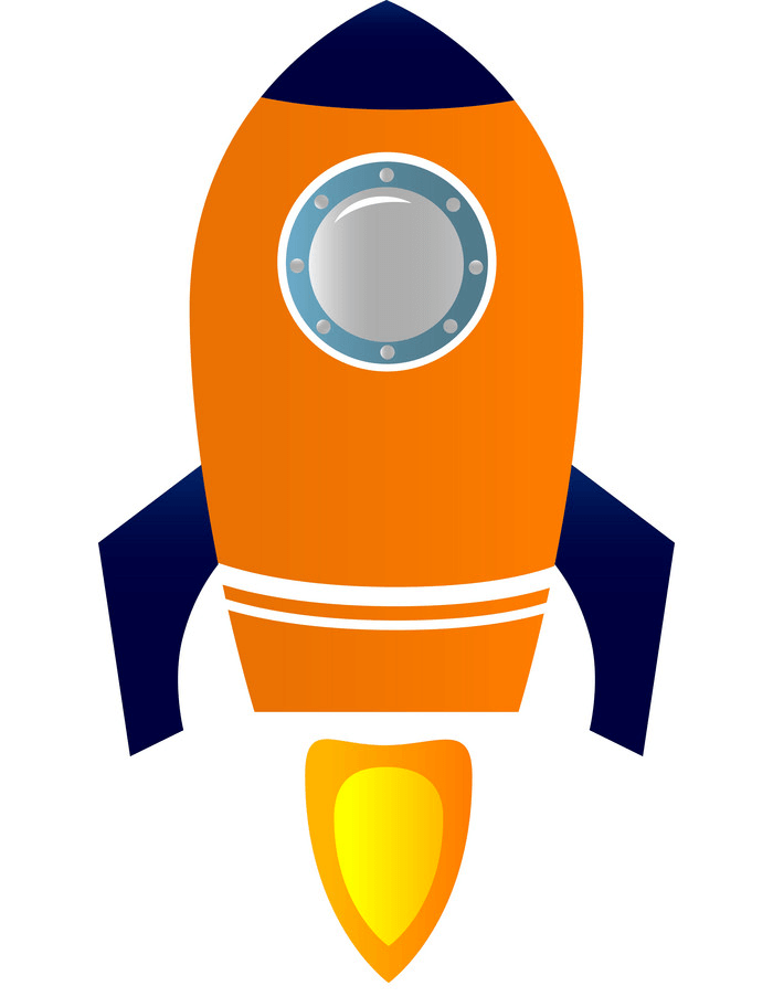 Rocket Ship clipart image