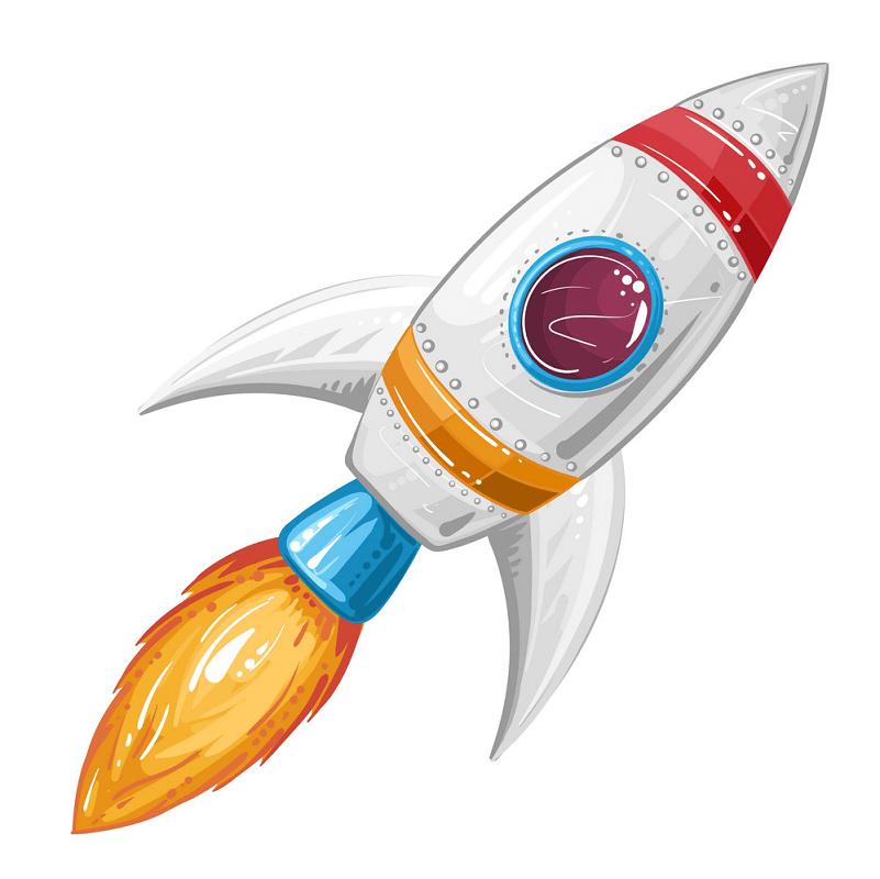 Rocket Ship clipart images