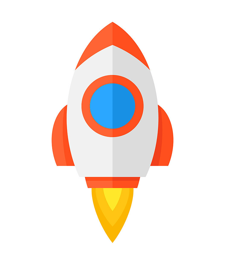 Rocket Ship clipart png free