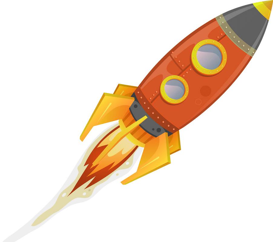 Rocket Ship clipart png image