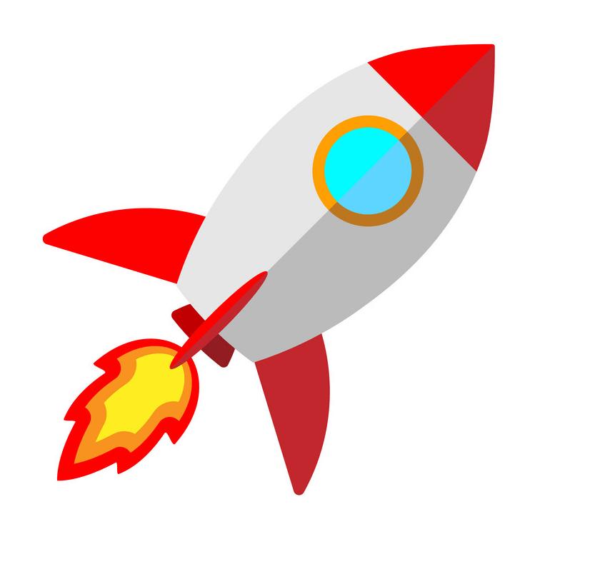 Rocket Ship clipart png