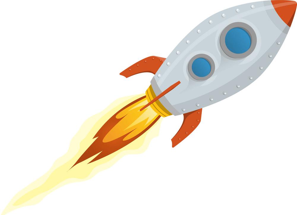 Rocket Ship clipart