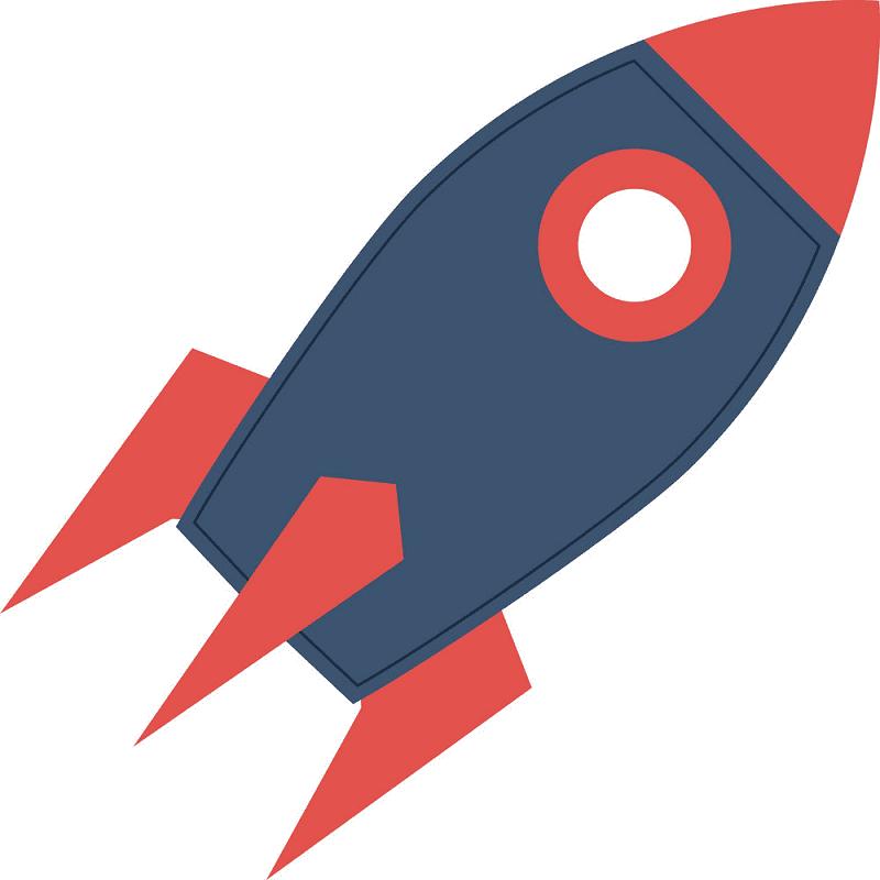 Rocket clipart 5