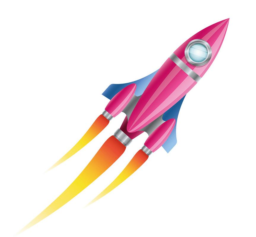 Rocket clipart free 10