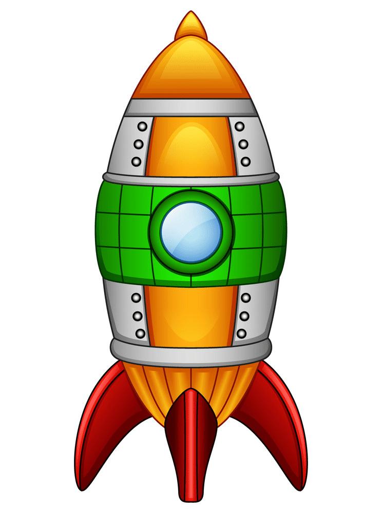 Rocket clipart free 2