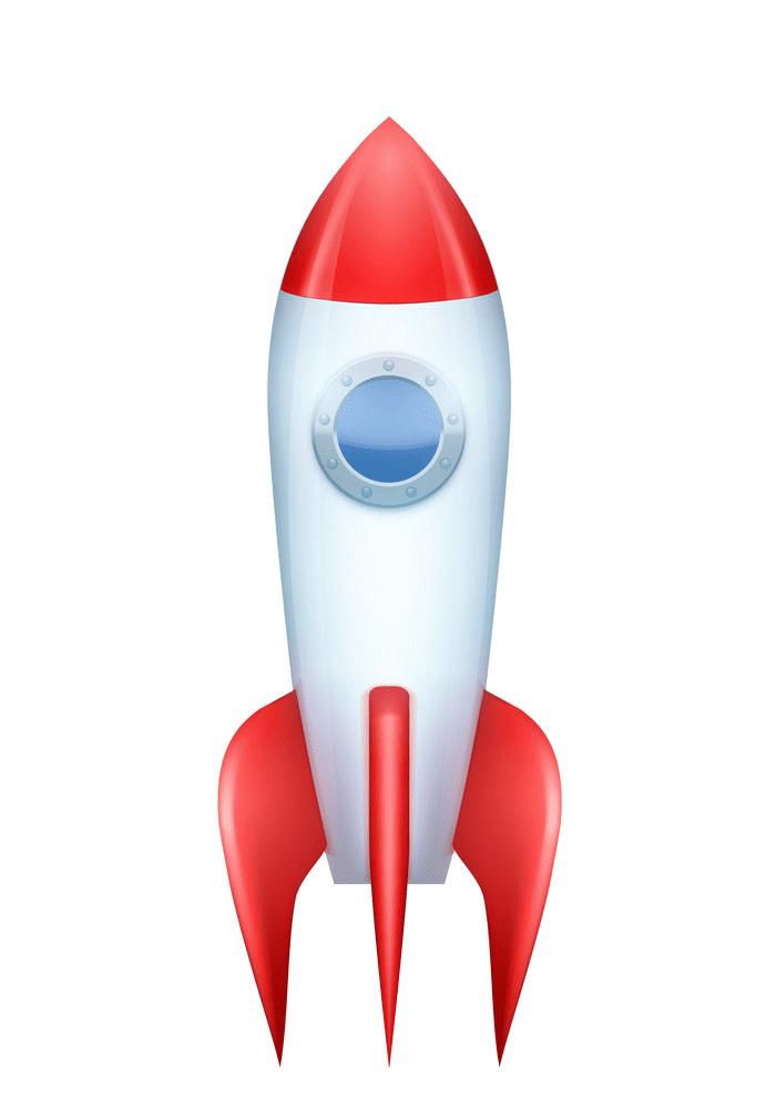 Rocket clipart free 7