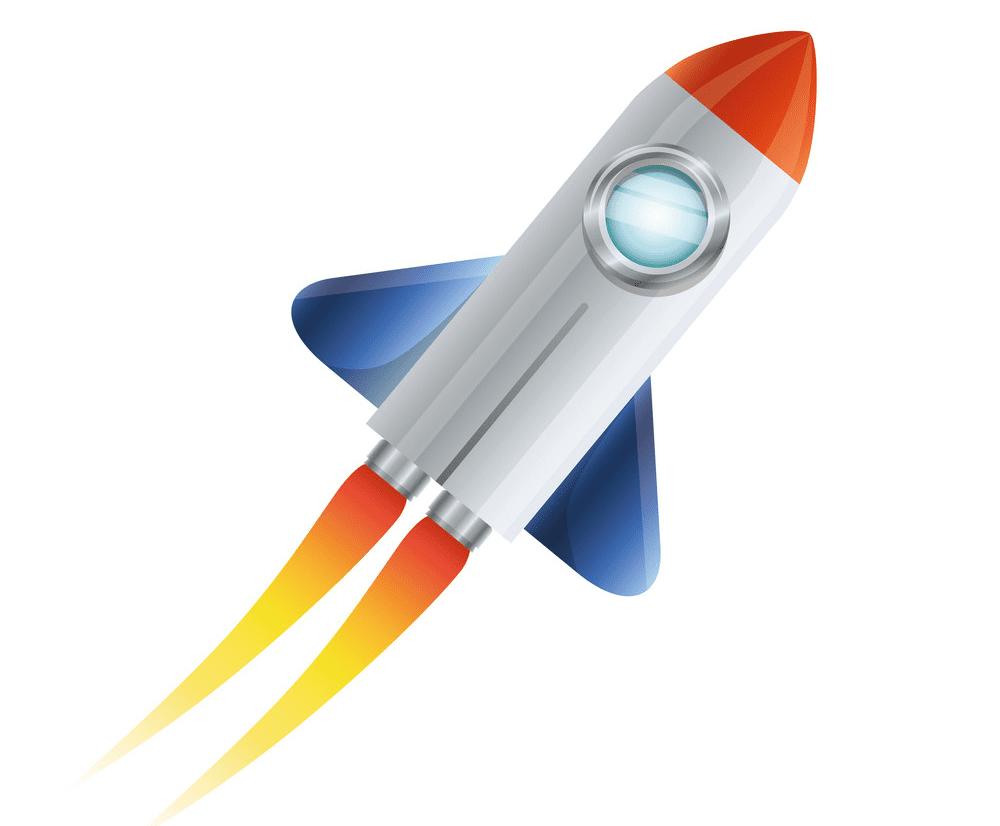Rocket clipart free 9