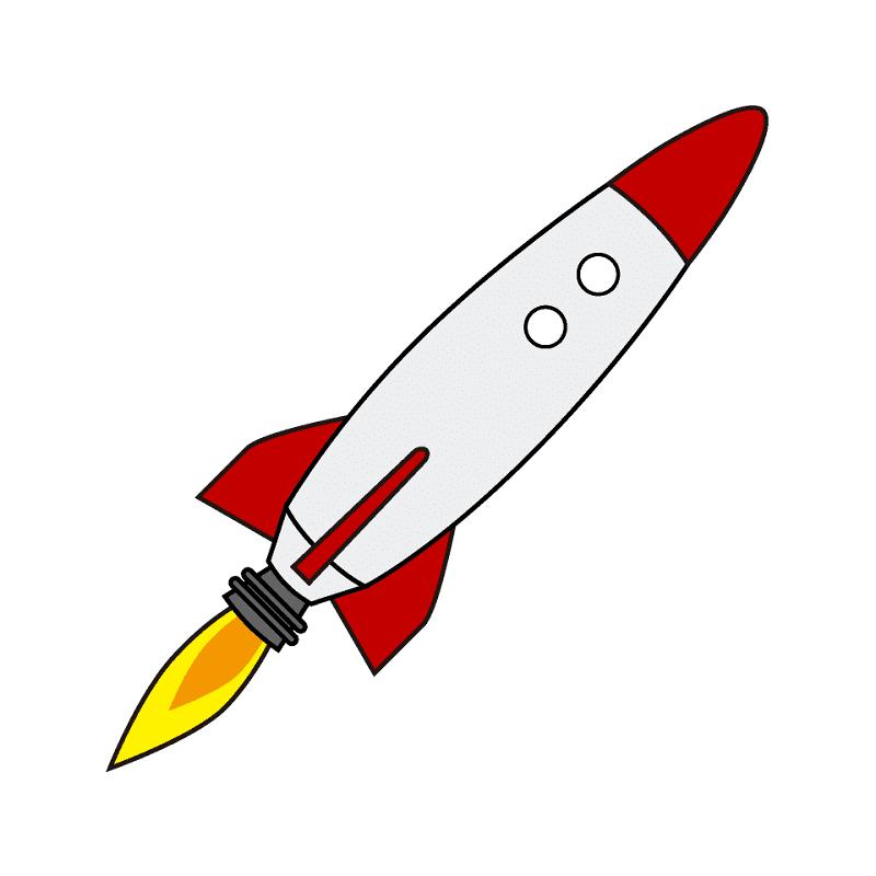Rocket clipart png 5