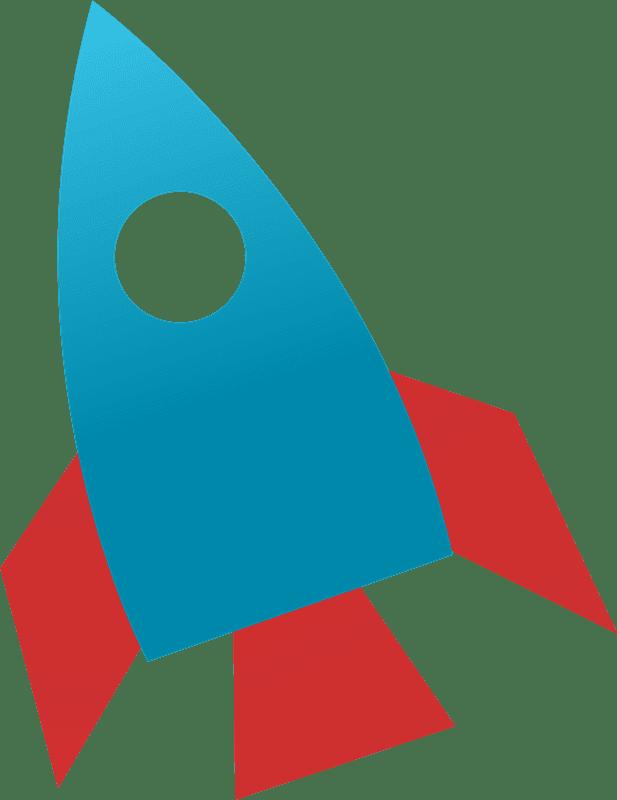 Rocket clipart transparent 2