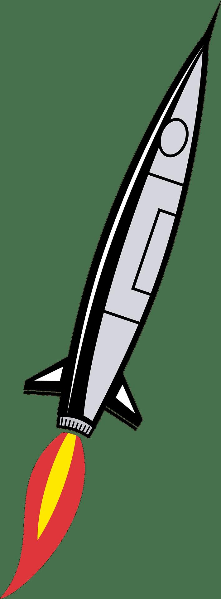 Rocket clipart transparent 3