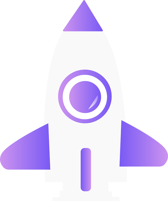 Rocket clipart transparent 4