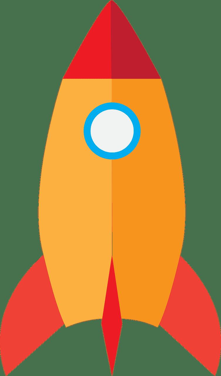 Rocket clipart transparent 5