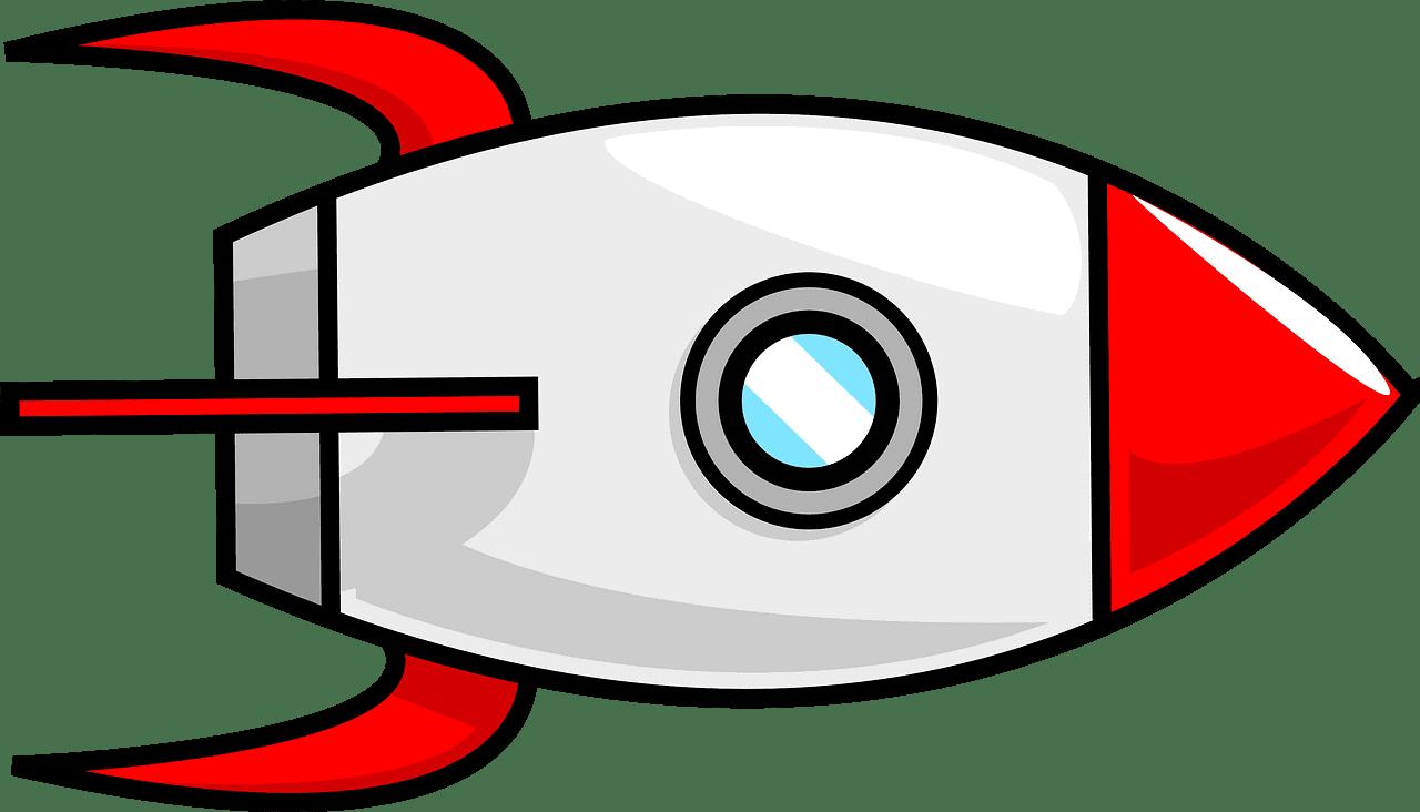 Rocket clipart transparent 8
