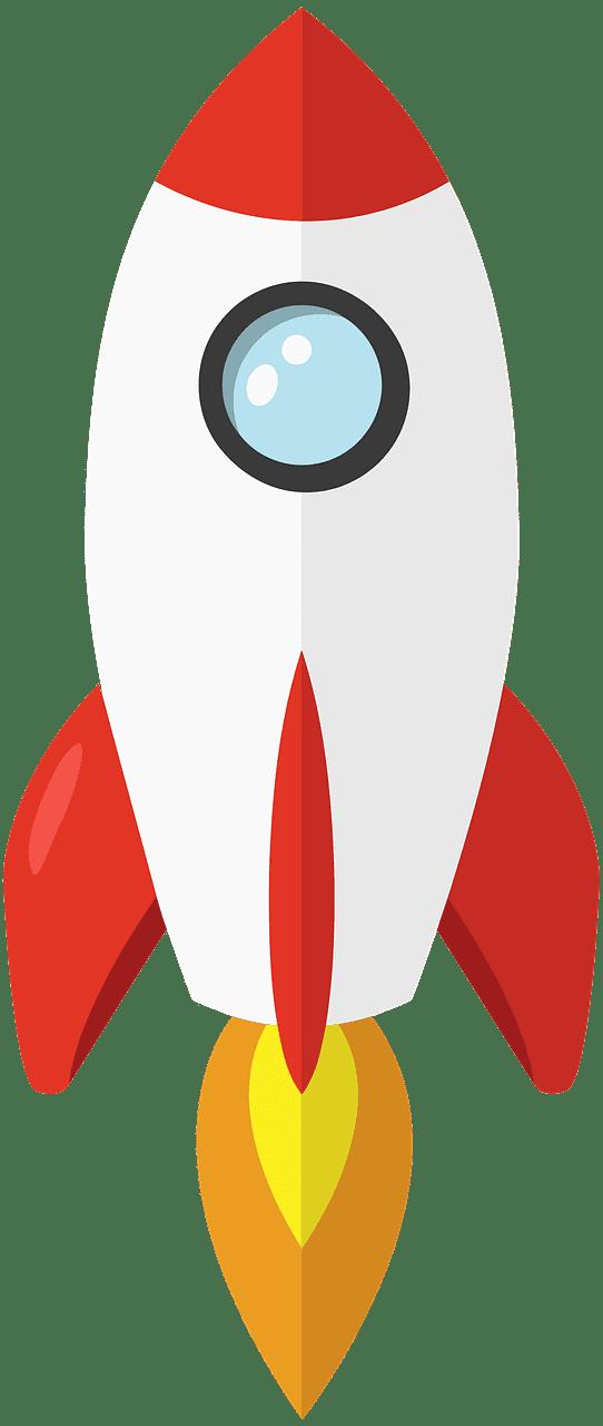 Rocket clipart transparent 9