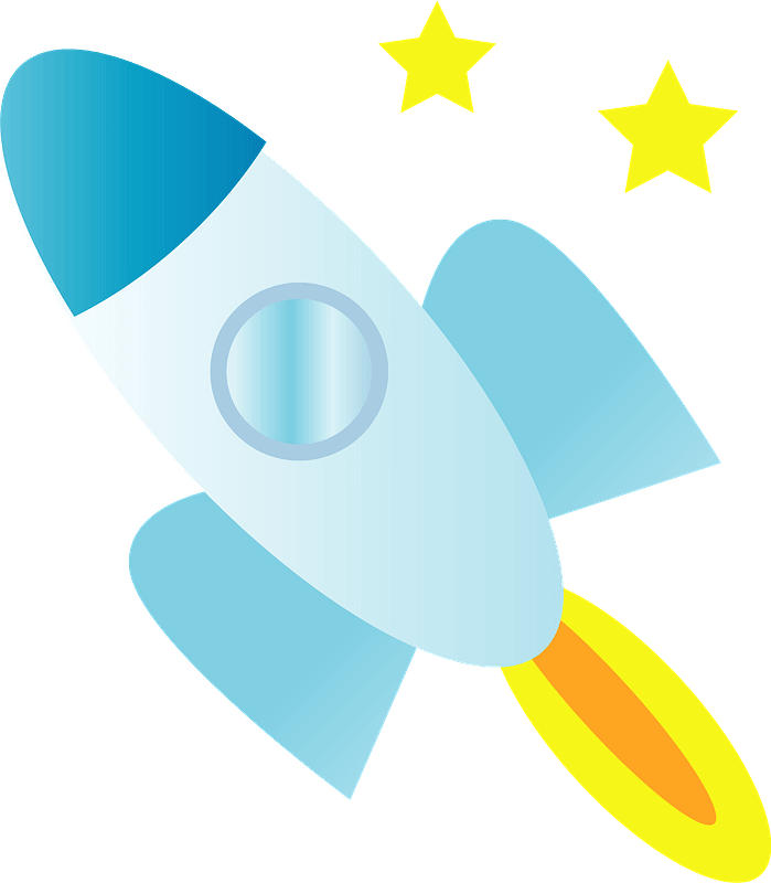 Rocket clipart transparent background 12
