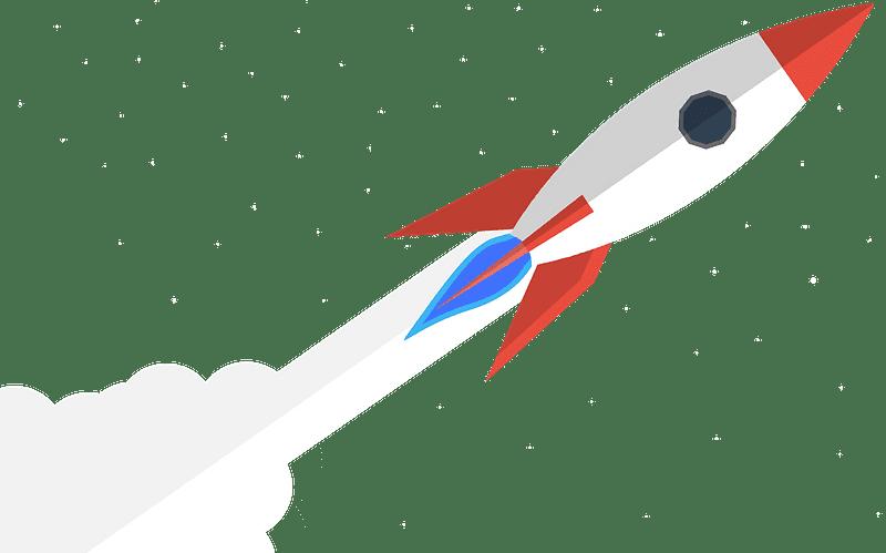 Rocket clipart transparent background 2