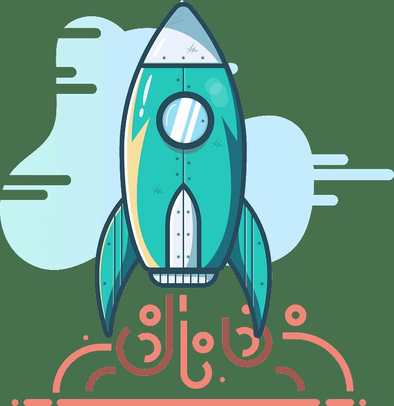 Rocket clipart transparent background 3