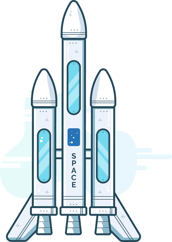 Rocket clipart transparent background 4