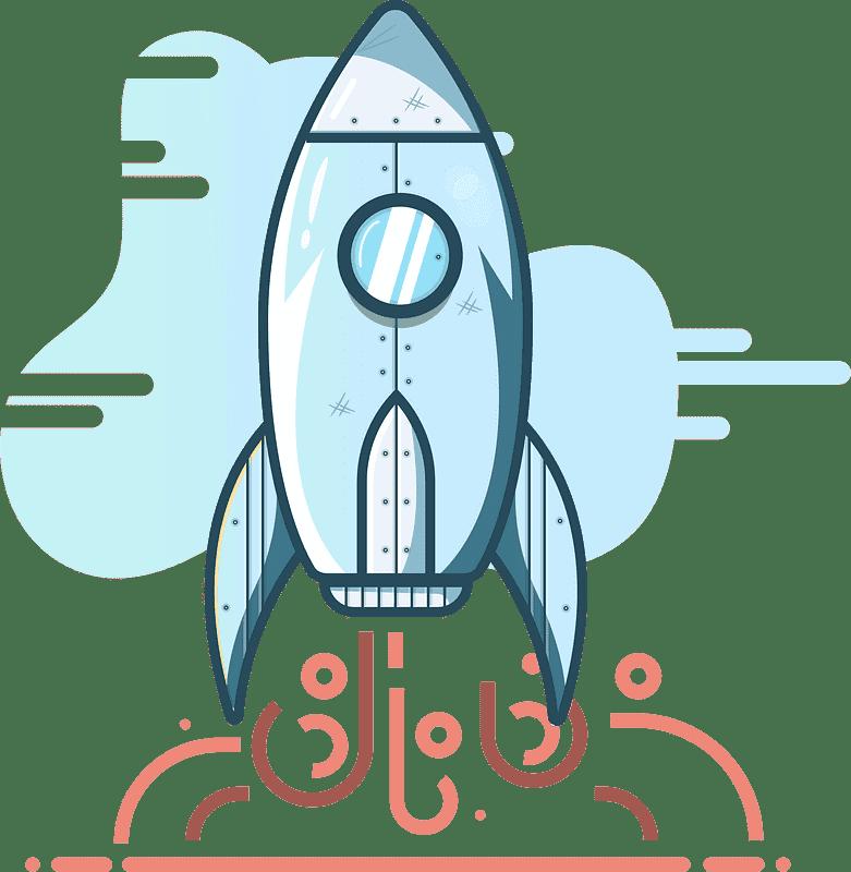 Rocket clipart transparent background 6