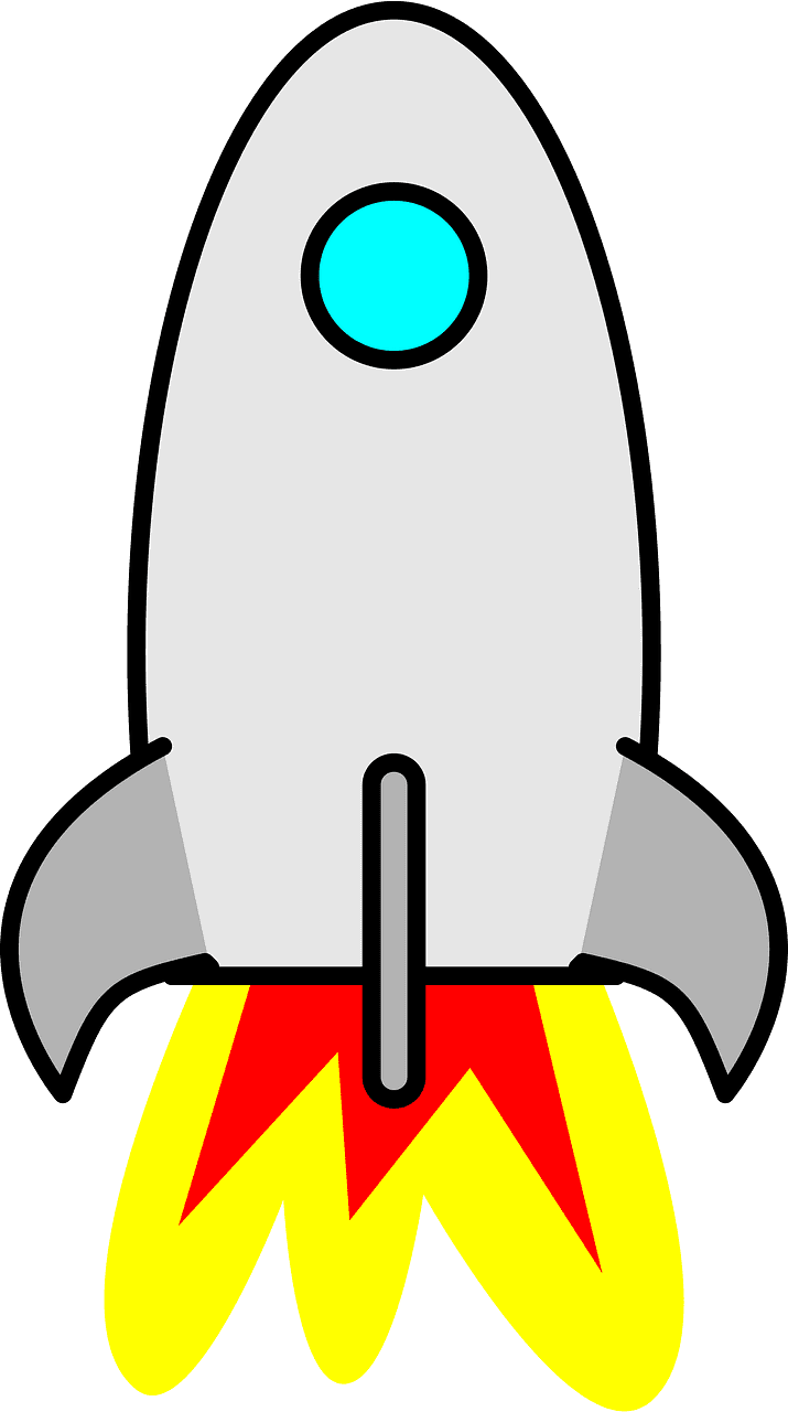 Rocket clipart transparent image