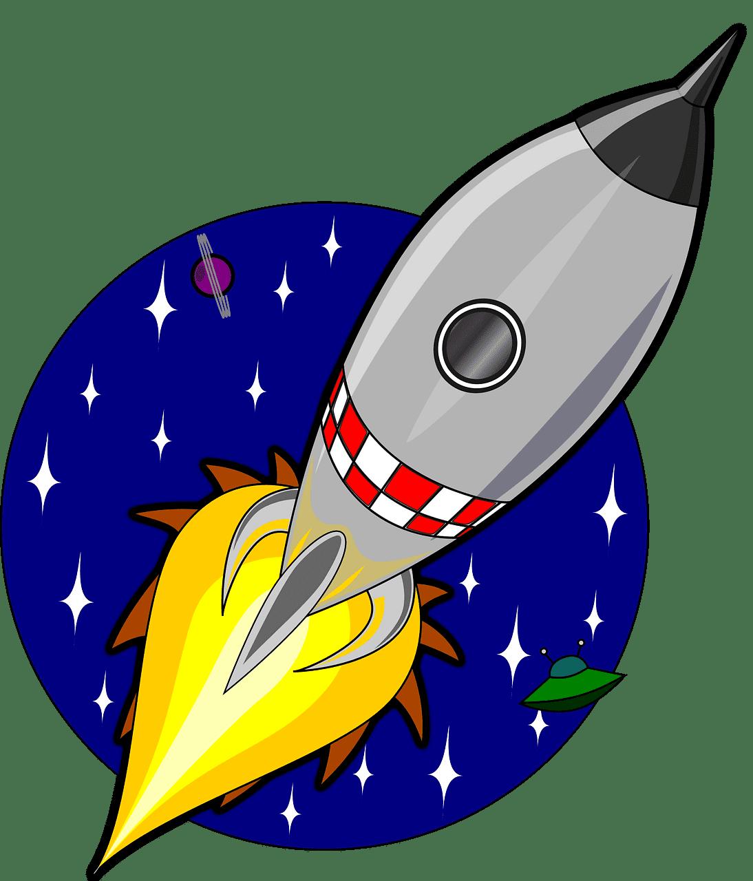 Rocket clipart transparent png free