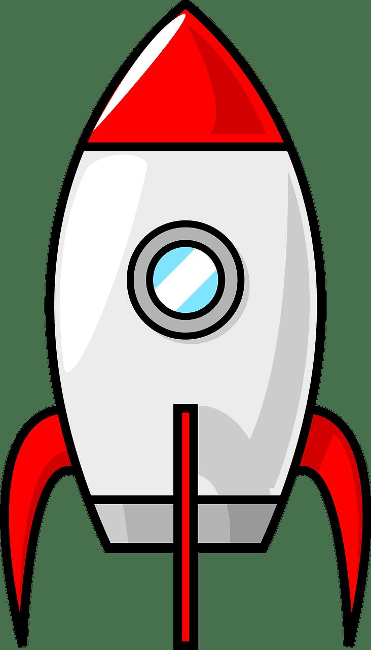 Rocket clipart transparent