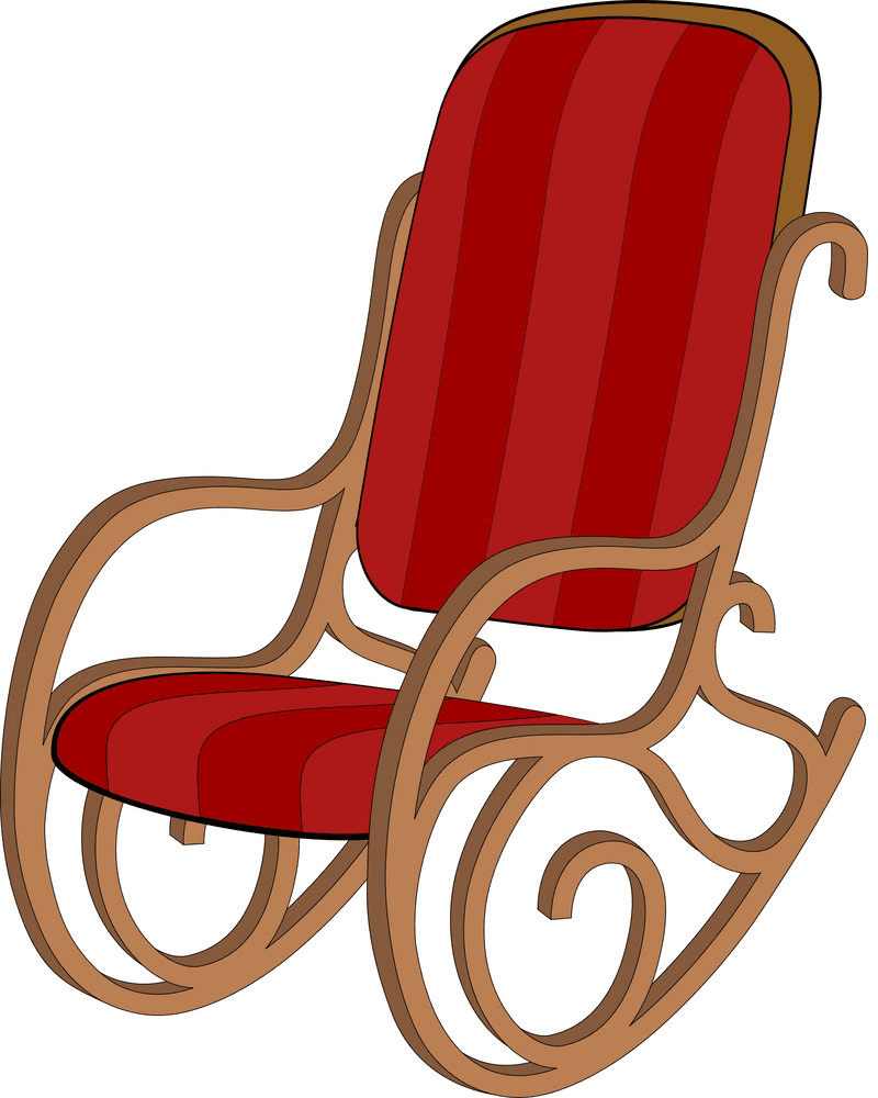 Rocking Chair clipart 1