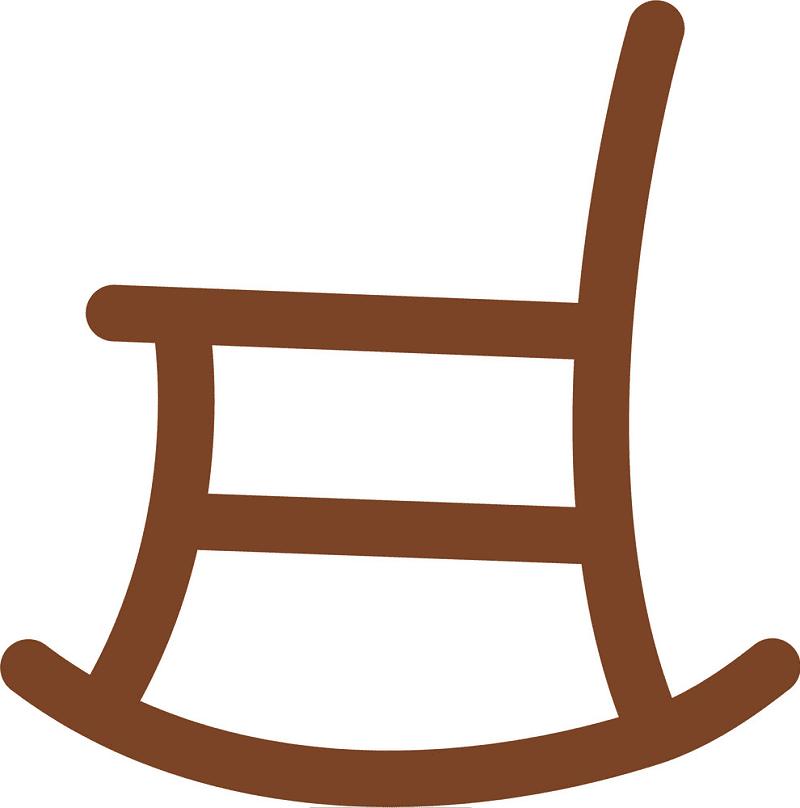 Rocking Chair clipart 2