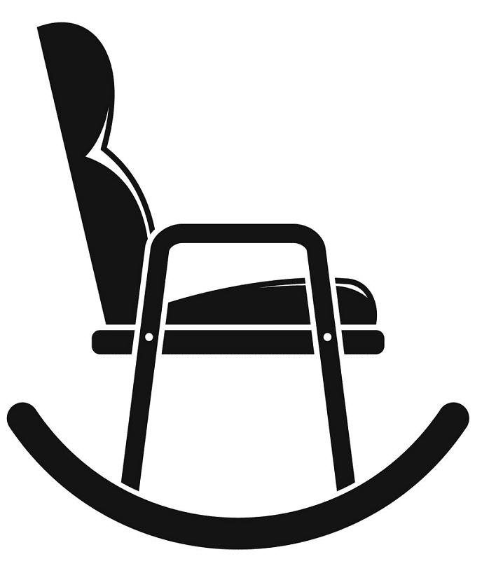 Rocking Chair clipart 3
