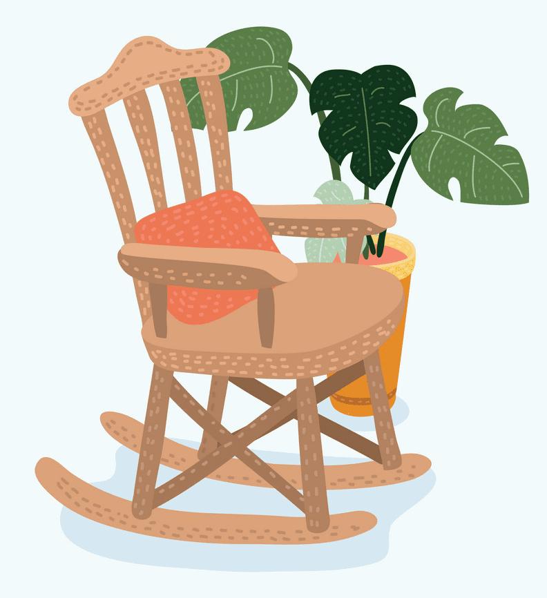 Rocking Chair clipart 4