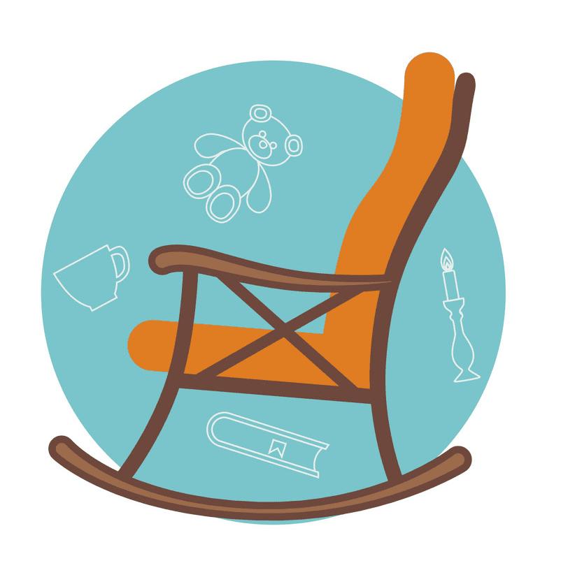 Rocking Chair clipart 5