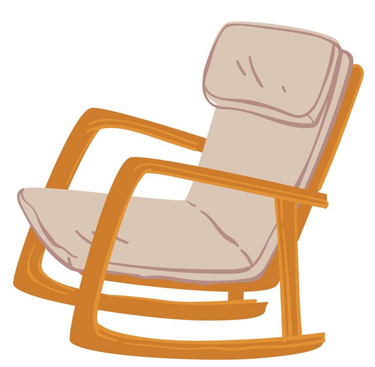 Rocking Chair clipart 6