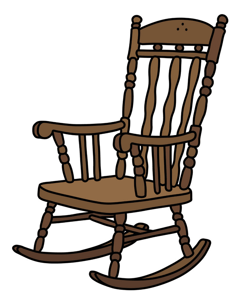 Rocking Chair clipart for free