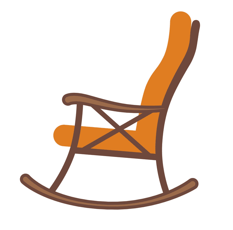 Rocking Chair clipart free image