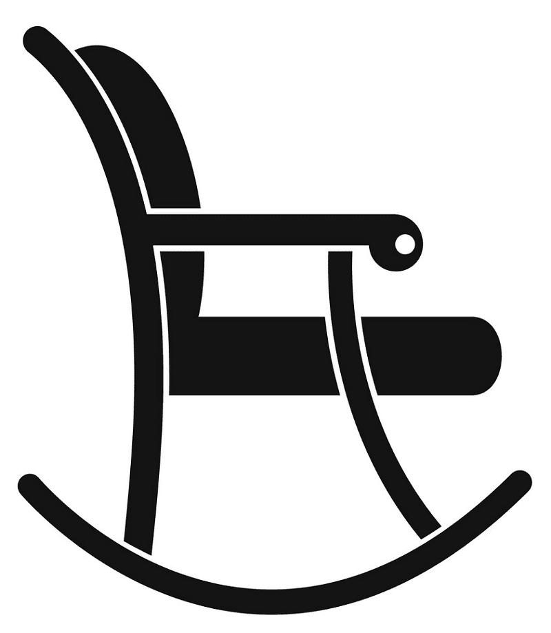 Rocking Chair clipart free images